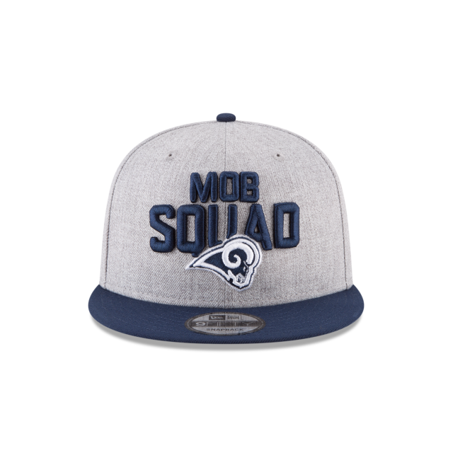 LOS ANGELES RAMS NFL DRAFT 9FIFTY SNAPBACK Front view