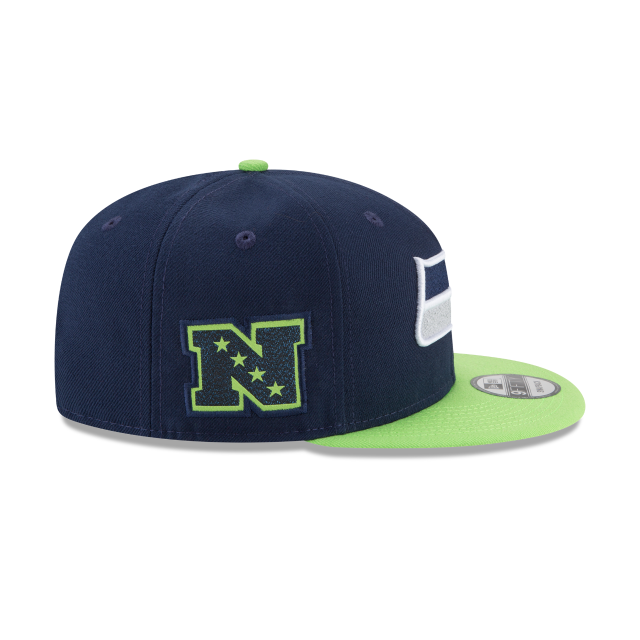 SEATTLE SEAHAWKS TEAM PATCHER 9FIFTY SNAPBACK Right side view