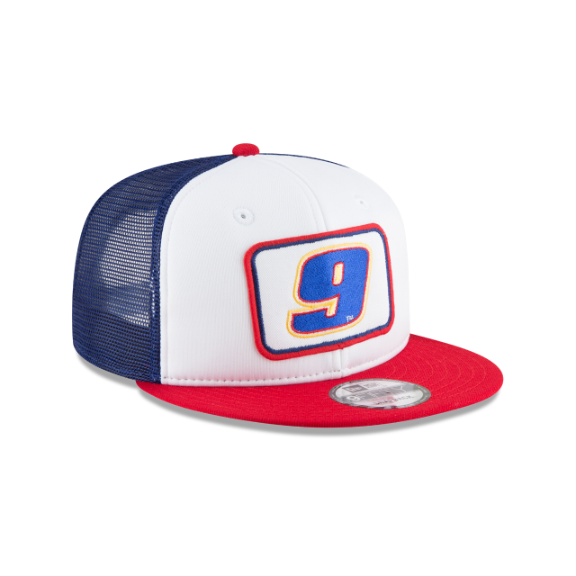 CHASE ELLIOTT TEAM PRIDE TRUCKER 9FIFTY SNAPBACK 3 quarter right view