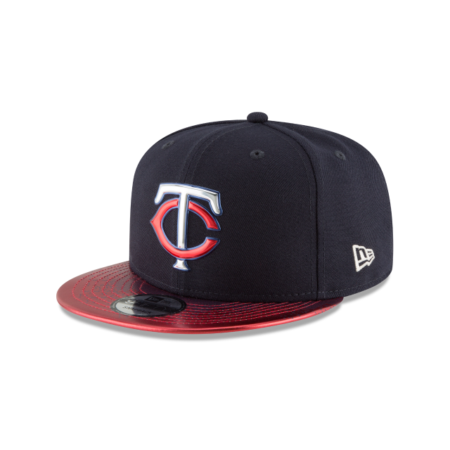 MINNESOTA TWINS TOPPS 35TH ANNIVERSARY 2018 9FIFTY SNAPBACK 3 quarter left view