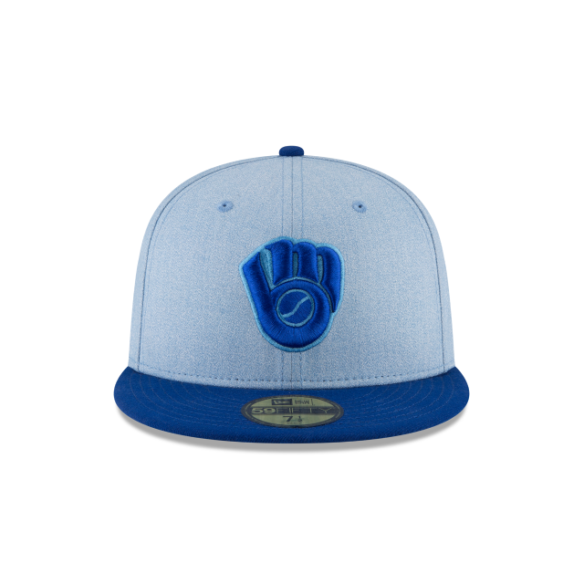 MILWAUKEE BREWERS FATHERS DAY 59FIFTY FITTED Front view