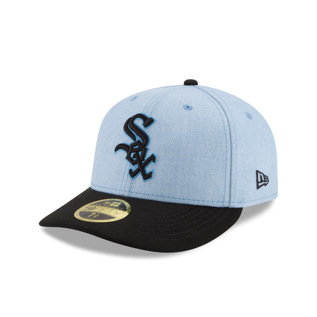 CHICAGO WHITE SOX FATHERS DAY LOW PROFILE 59FIFTY FITTED 3 quarter left view