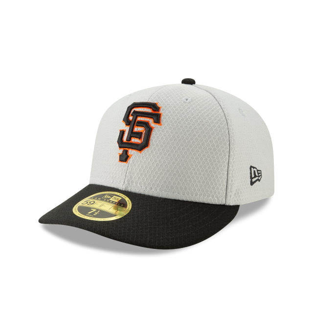 SAN FRANCISCO GIANTS BATTING PRACTICE ROAD LOW PROFILE 59FIFTY FITTED 3 quarter left view