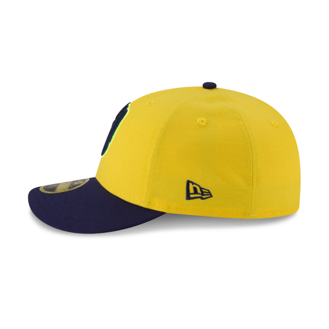 MILWAUKEE BREWERS PLAYERS WEEKEND LOW PROFILE 59FIFTY FITTED Left side view