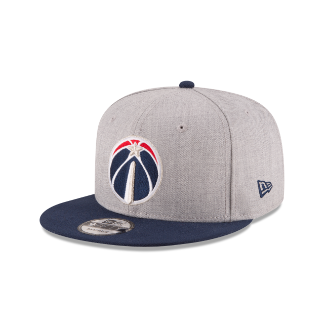 WASHINGTON WIZARDS 2TONE HEATHER 9FIFTY SNAPBACK 3 quarter left view