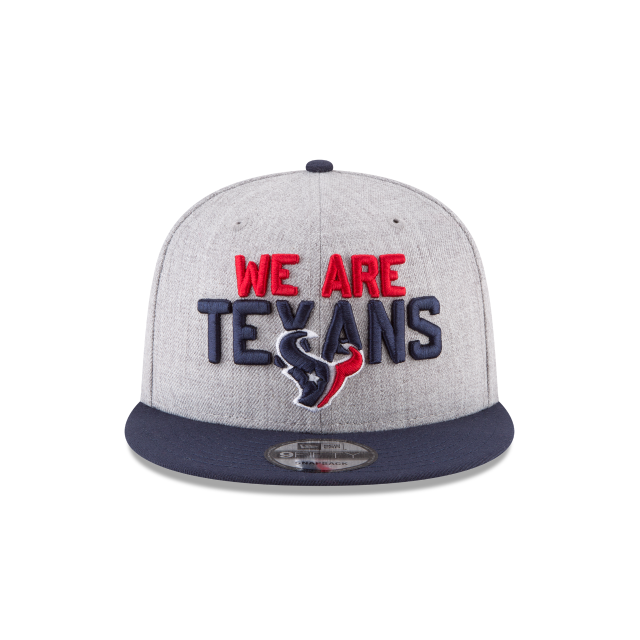 HOUSTON TEXANS NFL DRAFT 9FIFTY SNAPBACK Front view