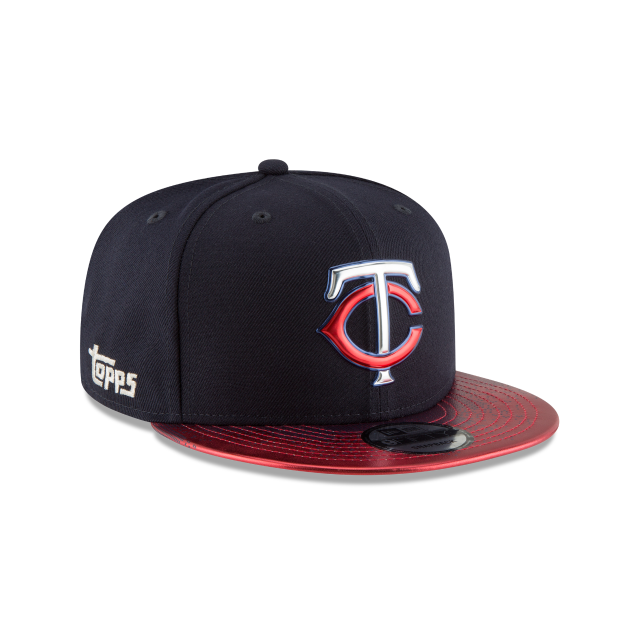 MINNESOTA TWINS TOPPS 35TH ANNIVERSARY 2018 9FIFTY SNAPBACK 3 quarter right view