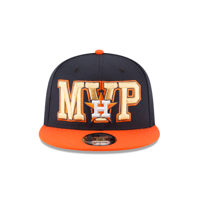 JOSE ALTUVE 2017 AMERICAN LEAGUE MVP 9FIFTY SNAPBACK Front view
