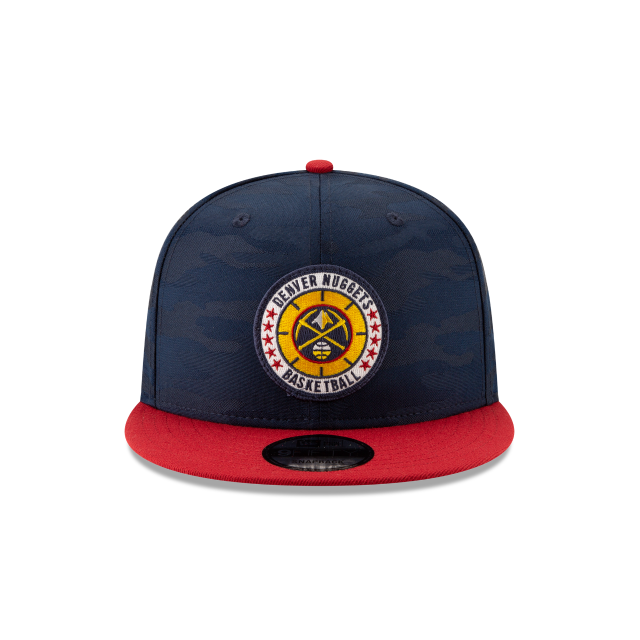 DENVER NUGGETS 2018 NBA AUTHENTICS: TIP OFF SERIES TWO-TONE 9FIFTY SNAPBACK Front view
