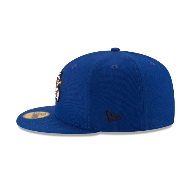 OMAHA STORM CHASERS AUTHENTIC COLLECTION 59FIFTY FITTED Left side view