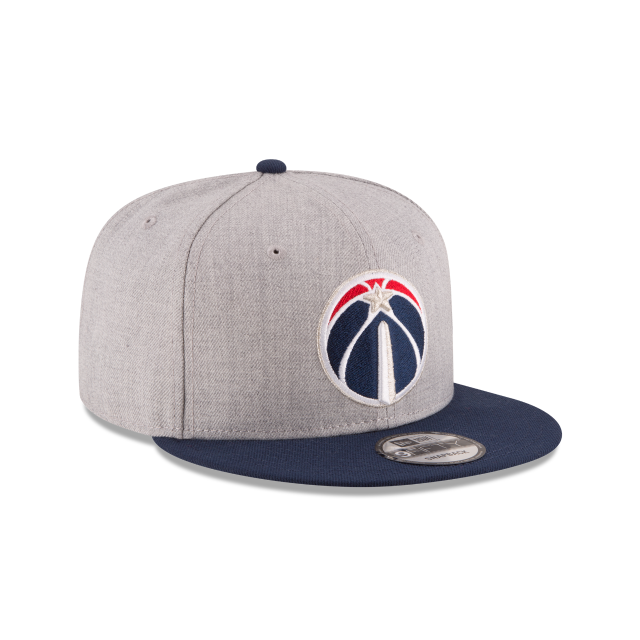 WASHINGTON WIZARDS 2TONE HEATHER 9FIFTY SNAPBACK 3 quarter right view