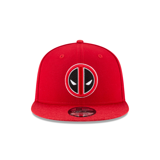 DEADPOOL PERFORATED 9FIFTY SNAPBACK Front view