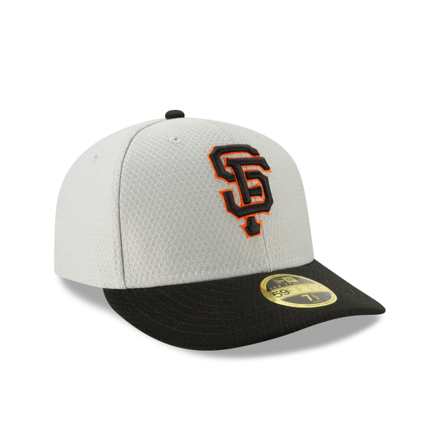 SAN FRANCISCO GIANTS BATTING PRACTICE ROAD LOW PROFILE 59FIFTY FITTED 3 quarter right view