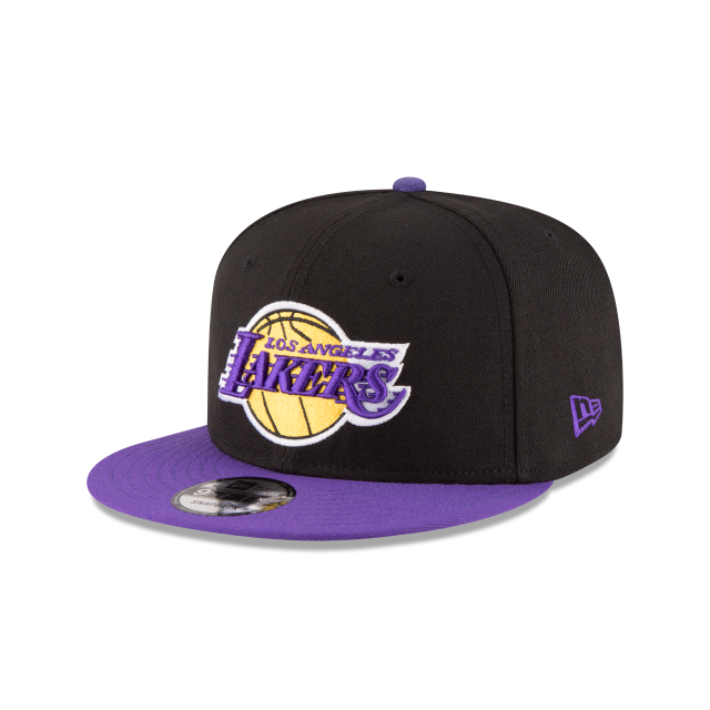 LOS ANGELES LAKERS 2TONE 9FIFTY SNAPBACK 3 quarter left view