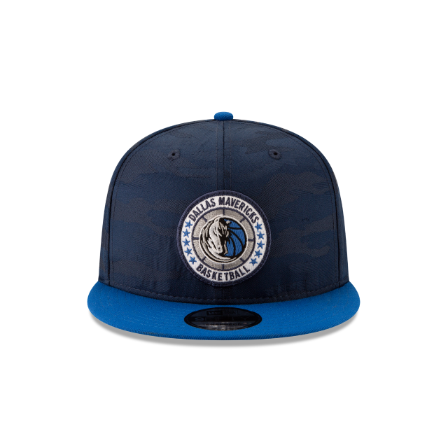 DALLAS MAVERICKS 2018 NBA AUTHENTICS: TIP OFF SERIES TWO-TONE 9FIFTY SNAPBACK Front view