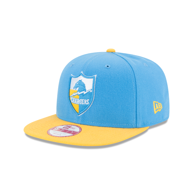 LOS ANGELES CHARGERS HISTORIC 9FIFTY SNAPBACK 3 quarter left view