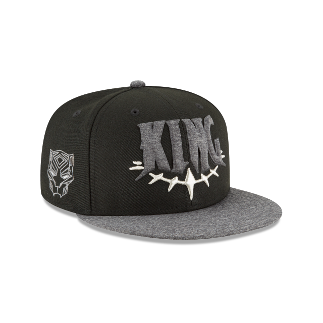 BLACK PANTHER KING 9FIFTY SNAPBACK 3 quarter right view 380b20eec31