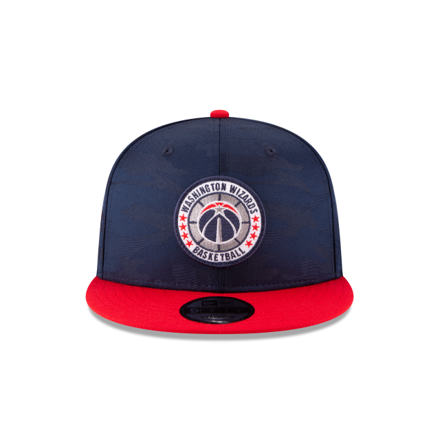 WASHINGTON WIZARDS 2018 NBA AUTHENTICS: TIP OFF SERIES TWO-TONE 9FIFTY SNAPBACK Front view