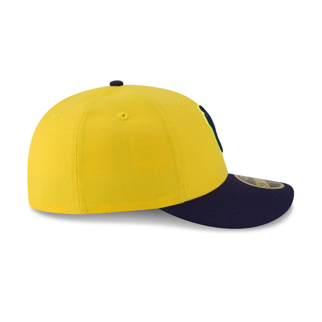 MILWAUKEE BREWERS PLAYERS WEEKEND LOW PROFILE 59FIFTY FITTED Right side view