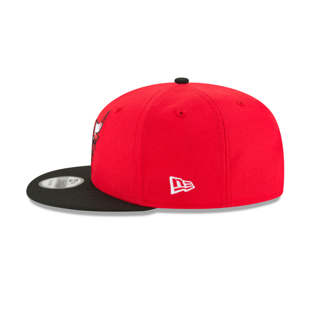 CHICAGO BULLS MELTING LOGO 9FIFTY SNAPBACK Left side view