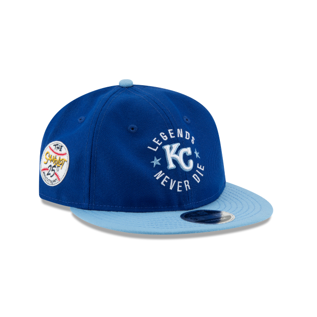 KANSAS CITY ROYALS SANDLOT LND RETRO CROWN 9FIFTY SNAPBACK 3 quarter right view