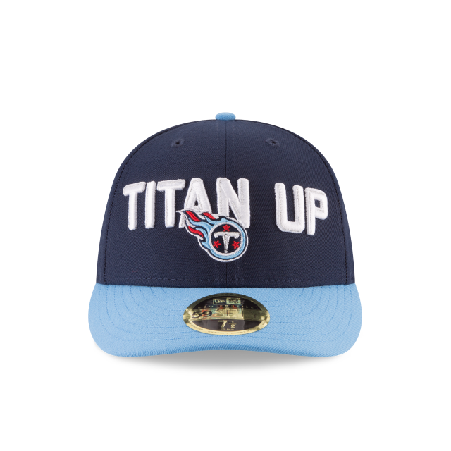 TENNESSEE TITANS SPOTLIGHT LOW PROFILE 59FIFTY FITTED Front view 9f4834b45