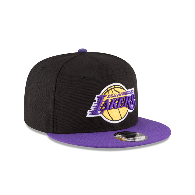LOS ANGELES LAKERS 2TONE 9FIFTY SNAPBACK 3 quarter right view