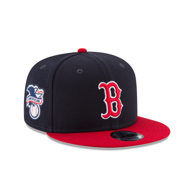 BOSTON RED SOX TEAM PATCHER 9FIFTY SNAPBACK 3 quarter right view