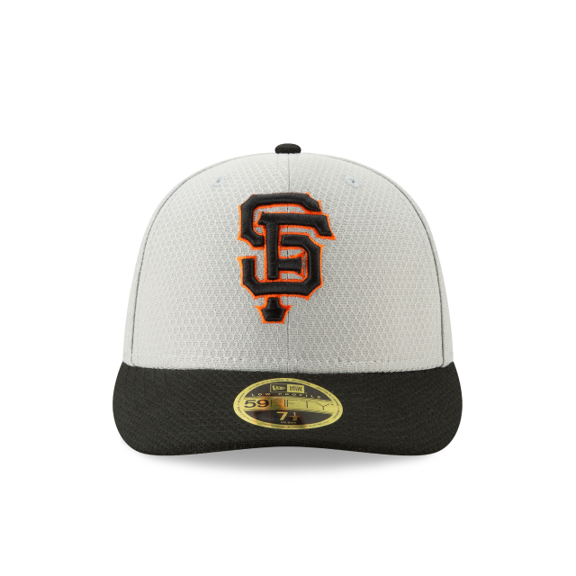 SAN FRANCISCO GIANTS BATTING PRACTICE ROAD LOW PROFILE 59FIFTY FITTED Front view