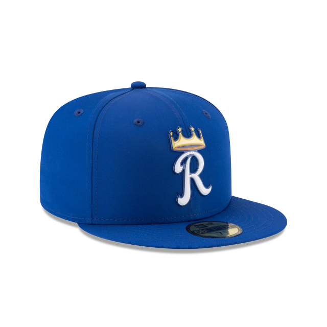 KIDS KANSAS CITY ROYALS BATTING PRACTICE PROLIGHT 59FIFTY FITTED 3 quarter right view
