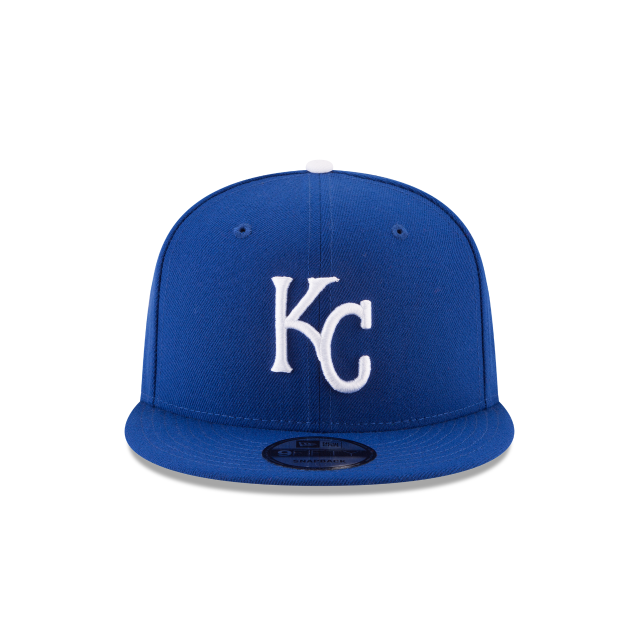 KANSAS CITY ROYALS TEAM COLOR BASIC 9FIFTY SNAPBACK Front view