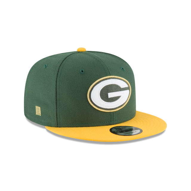 GREEN BAY PACKERS GLORY TURN 9FIFTY SNAPBACK 3 quarter right view