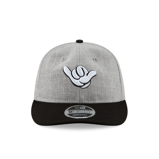 MICKEY MOUSE TRUE ORIGINAL HANG LOOSE RETRO CROWN 9FIFTY SNAPBACK Front view