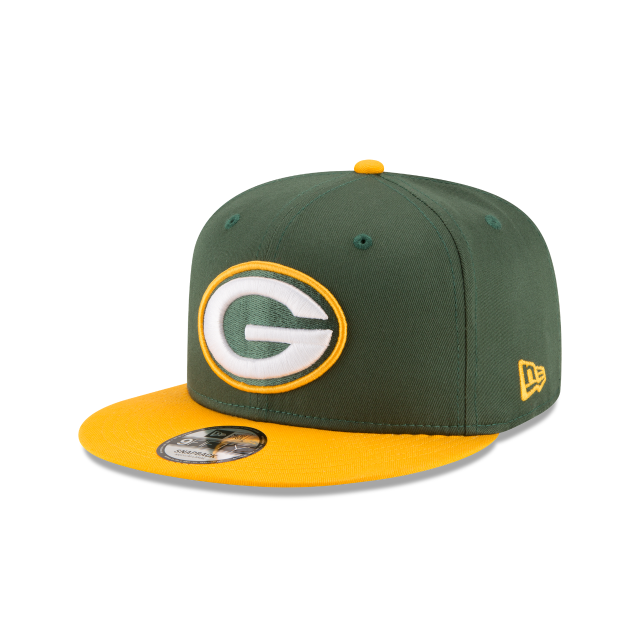 GREEN BAY PACKERS NFL BAYCIK 9FIFTY SNAPBACK 3 quarter left view
