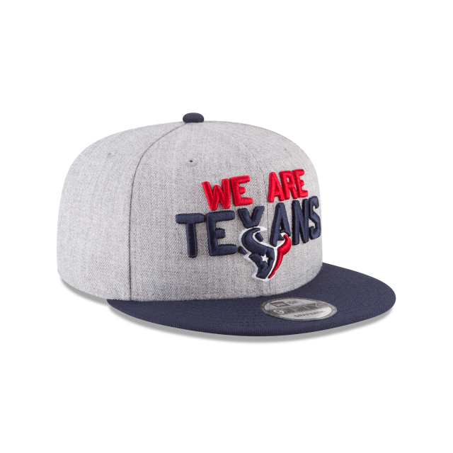 HOUSTON TEXANS NFL DRAFT 9FIFTY SNAPBACK 3 quarter right view