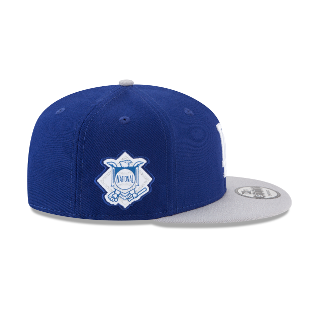 LOS ANGELES DODGERS TEAM PATCHER 9FIFTY SNAPBACK Right side view