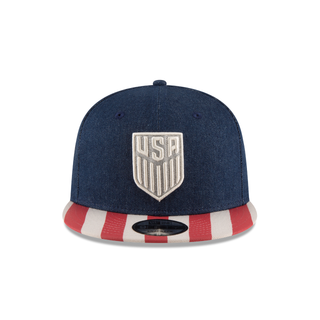 USA SOCCER FULLY FLAGGED 9FIFTY SNAPBACK Front view b9b8f1d09356
