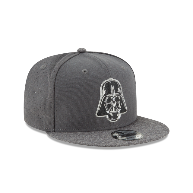 STAR WARS DARTH VADER PERFORATED 9FIFTY SNAPBACK 3 quarter right view