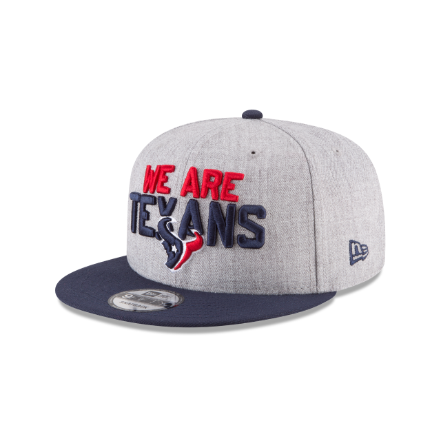 HOUSTON TEXANS NFL DRAFT 9FIFTY SNAPBACK 3 quarter left view
