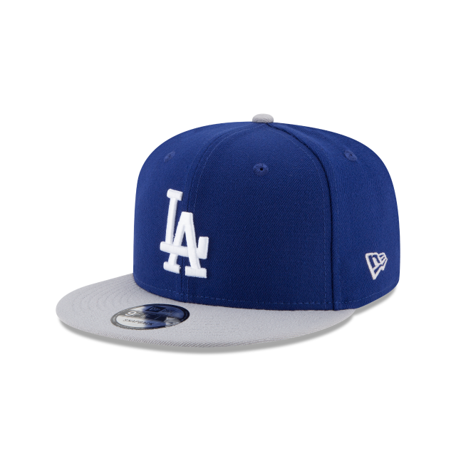 LOS ANGELES DODGERS TEAM PATCHER 9FIFTY SNAPBACK 3 quarter left view