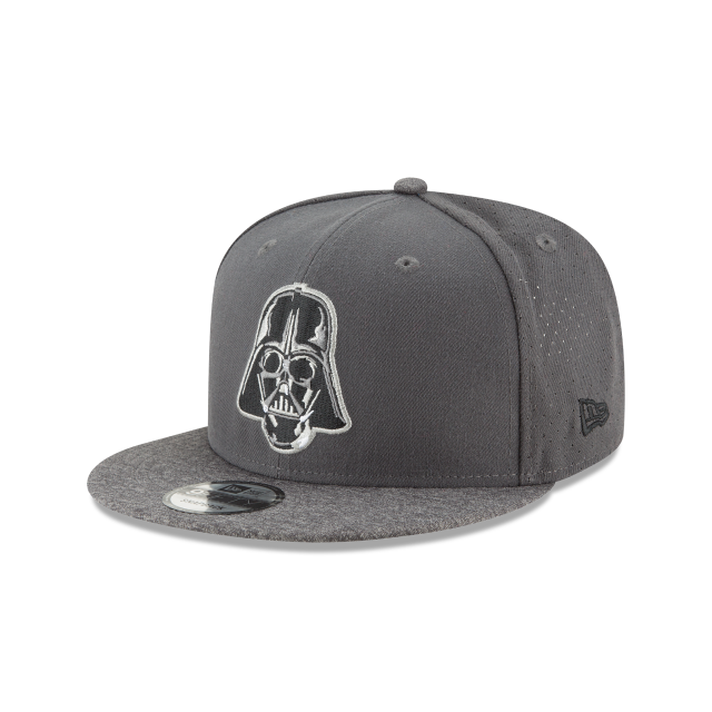 STAR WARS DARTH VADER PERFORATED 9FIFTY SNAPBACK 3 quarter left view