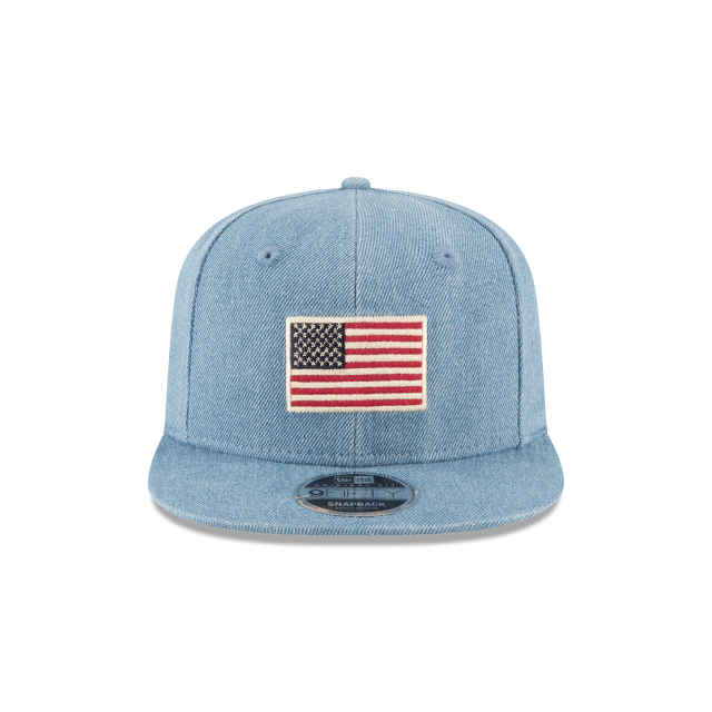 USA SEASONAL FLAG 9FIFTY SNAPBACK Front view