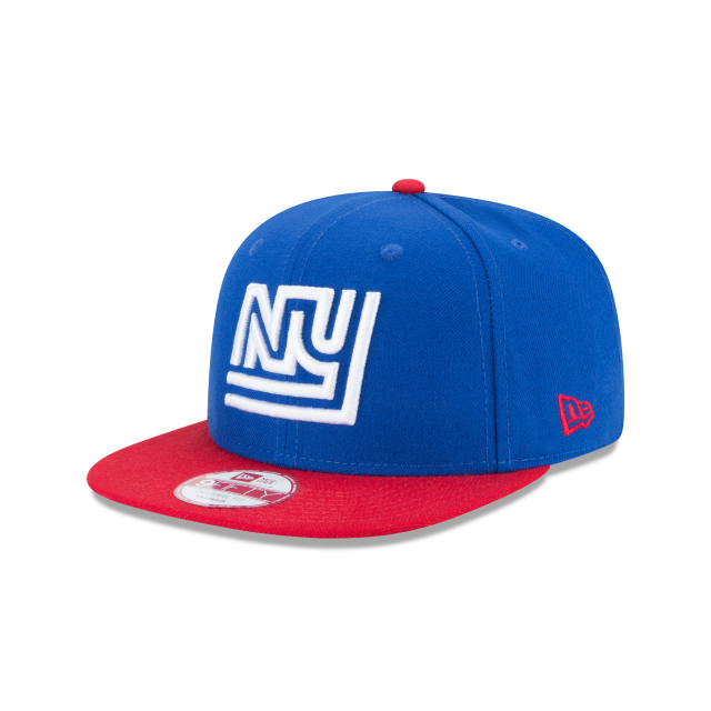 NEW YORK GIANTS HISTORIC 9FIFTY SNAPBACK 3 quarter left view