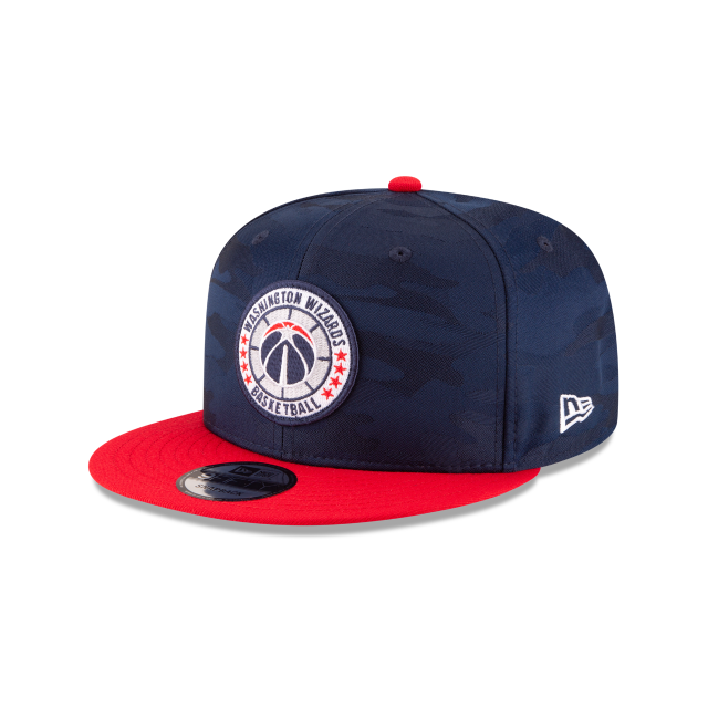 WASHINGTON WIZARDS 2018 NBA AUTHENTICS: TIP OFF SERIES TWO-TONE 9FIFTY SNAPBACK 3 quarter left view