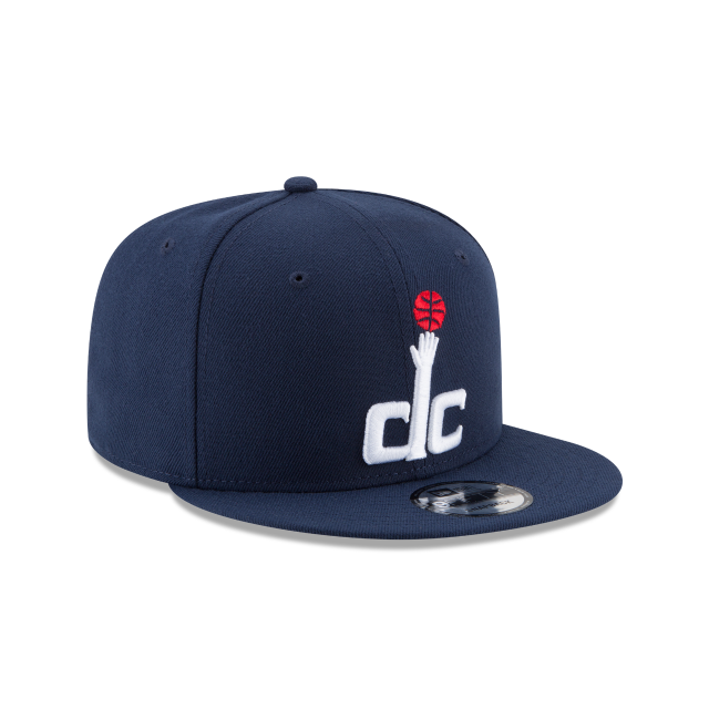WASHINGTON WIZARDS TEAM COLOR 9FIFTY SNAPBACK 3 quarter right view