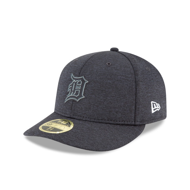 the best attitude d4c76 429c8 DETROIT TIGERS CLUBHOUSE COLLECTION LOW PROFILE 59FIFTY 3 quarter left view