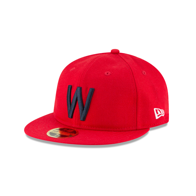 WASHINGTON SENATORS WOOL RETRO CROWN 59FIFTY FITTED 3 quarter left view