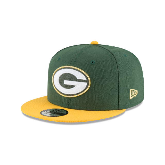 GREEN BAY PACKERS GLORY TURN 9FIFTY SNAPBACK 3 quarter left view