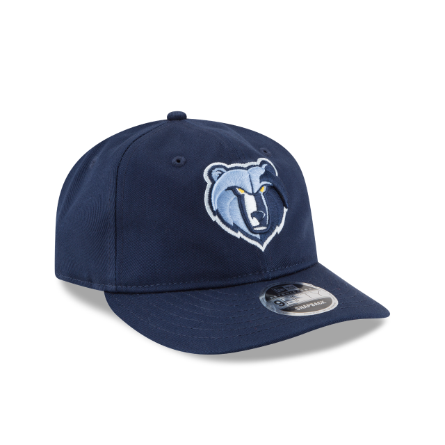 MEMPHIS GRIZZLIES TEAM CHOICE RETRO CROWN 9FIFTY SNAPBACK 3 quarter right view
