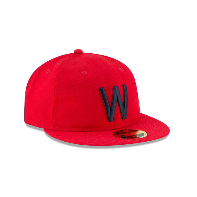 WASHINGTON SENATORS WOOL RETRO CROWN 59FIFTY FITTED 3 quarter right view